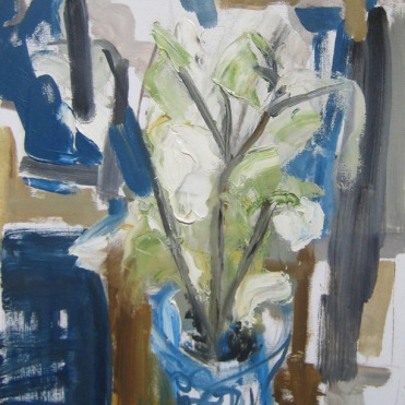 Blue Flower Mood